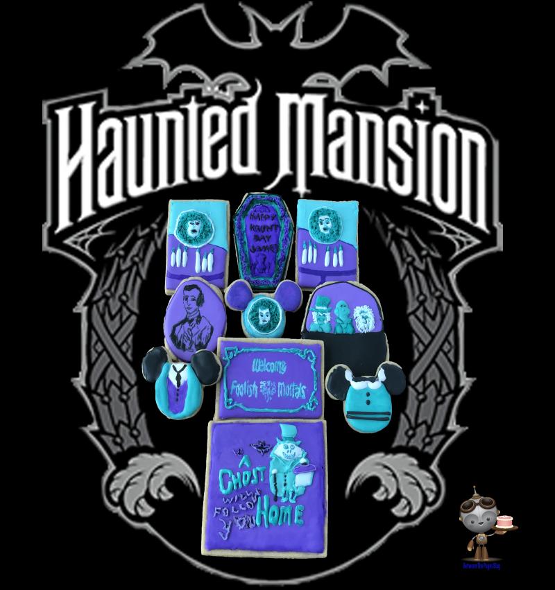 Haunted Mansion Cookies n