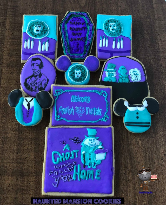 Disney Haunted Mansion Cookies