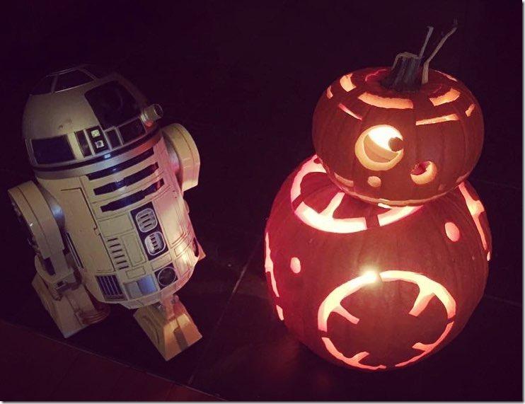 BB-8 Pumpkin Carving