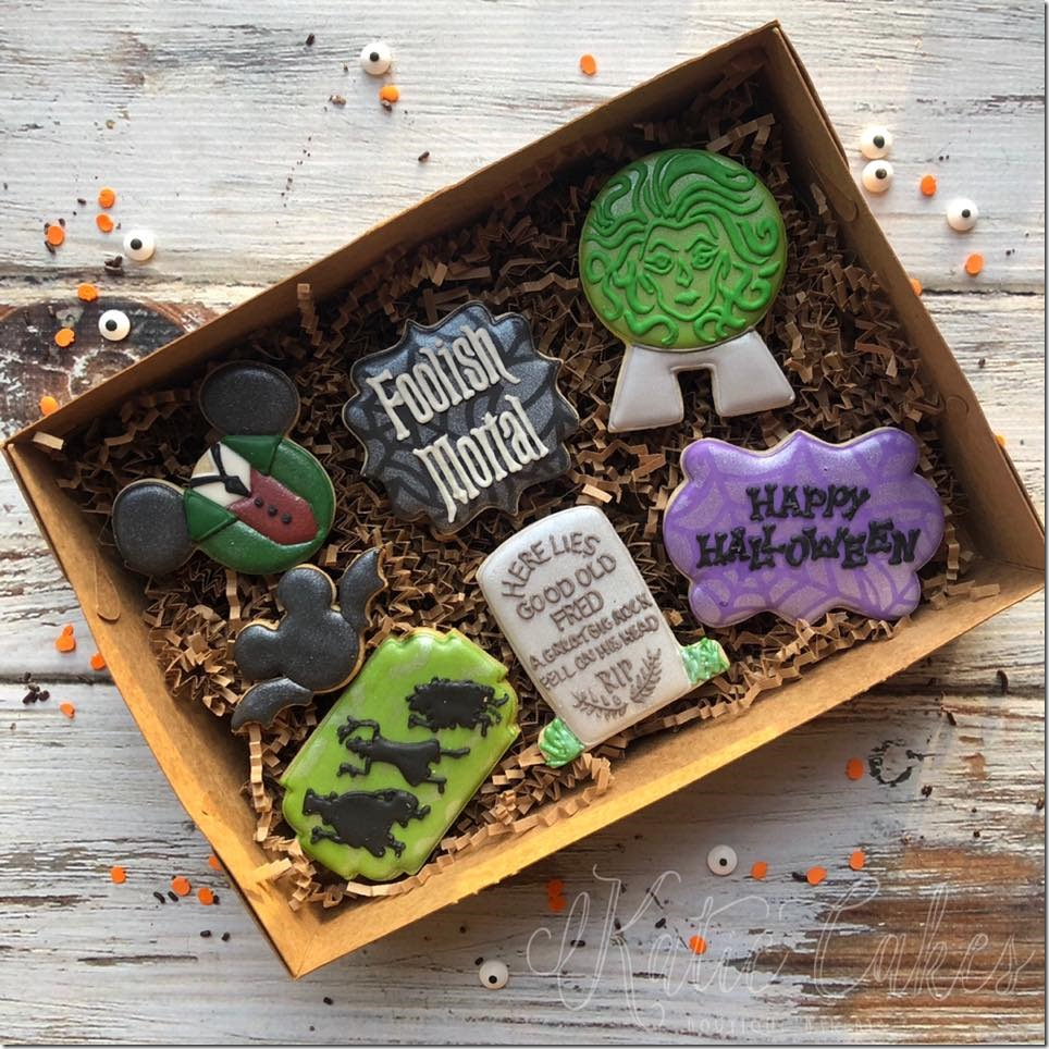 Haunted Mansion Cookie Gift Box