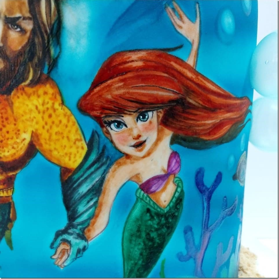 Close-up of Ariel