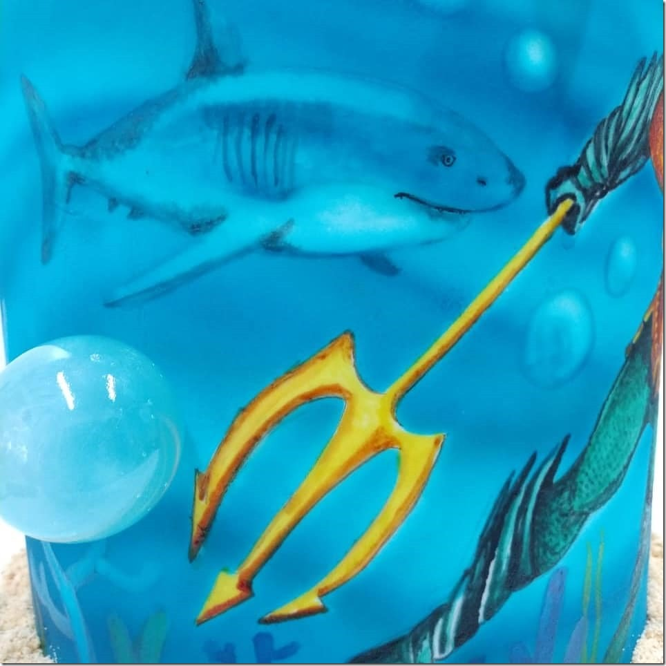Hand painted Shark