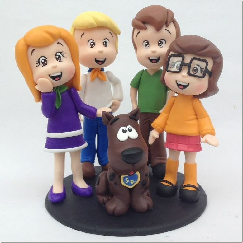 Scooby-Doo Cake Toppers