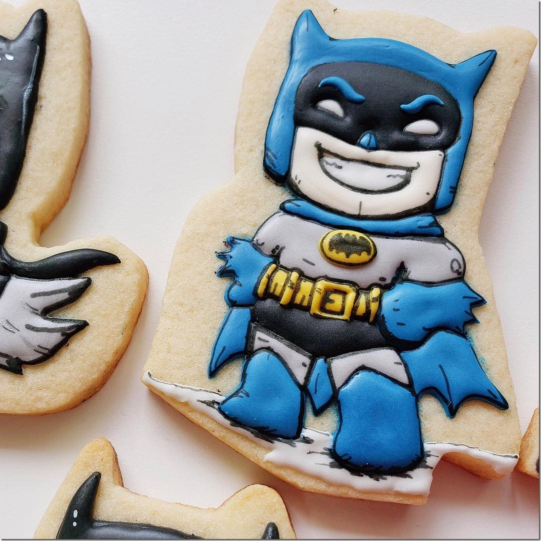 Batman '66 Cookie