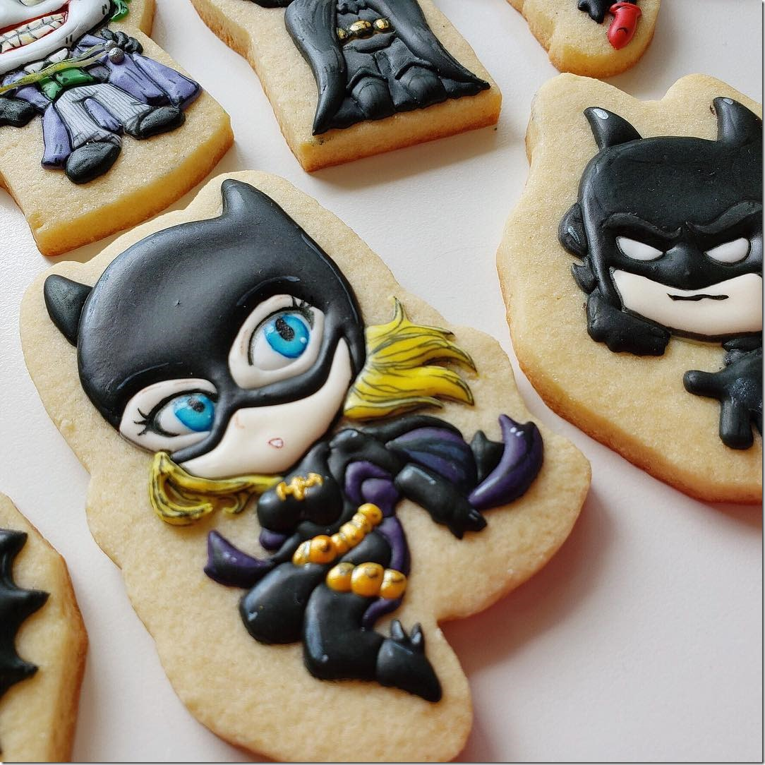 Stephanie Brown Batgirl Cookie