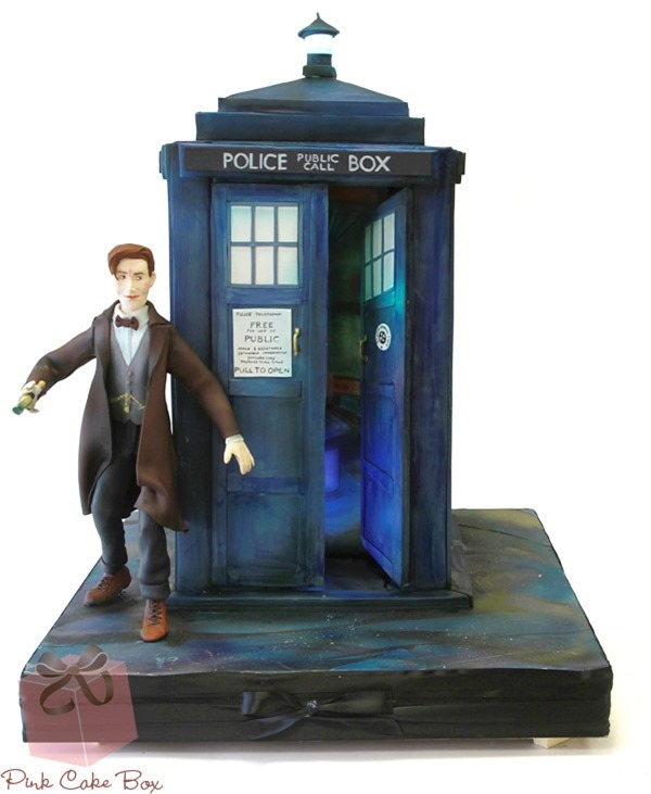 11th Doctor Cake