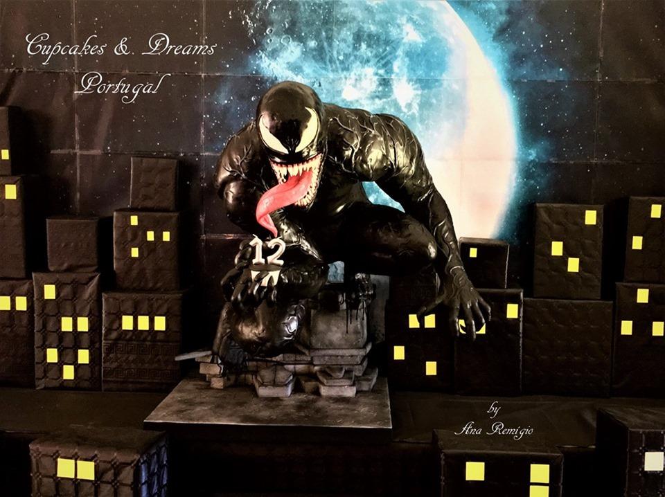 Venom 12th Birthday Cake