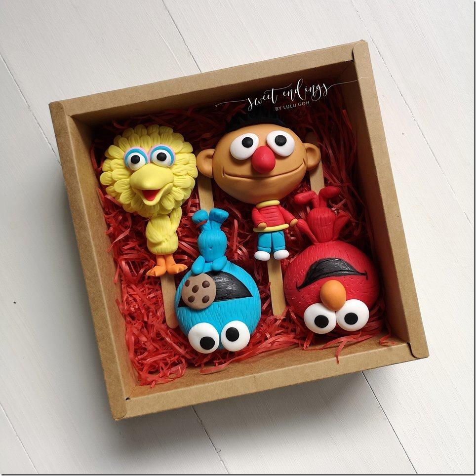 Sesame Street Cakesicles