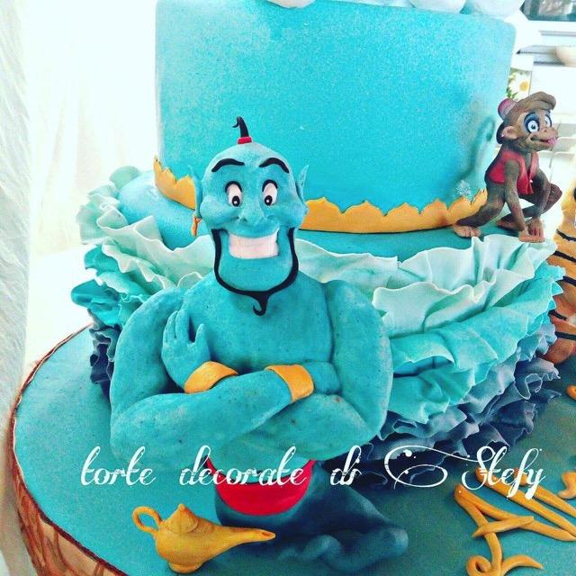 Aladdin and Jasmine cake