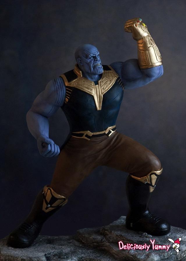 Thanos Cake