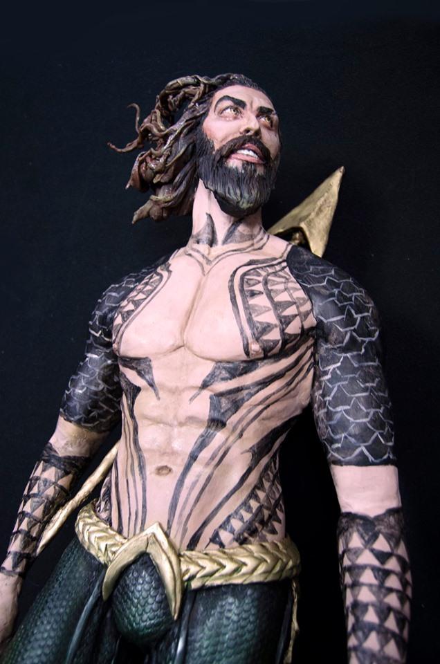 Aquaman Cake