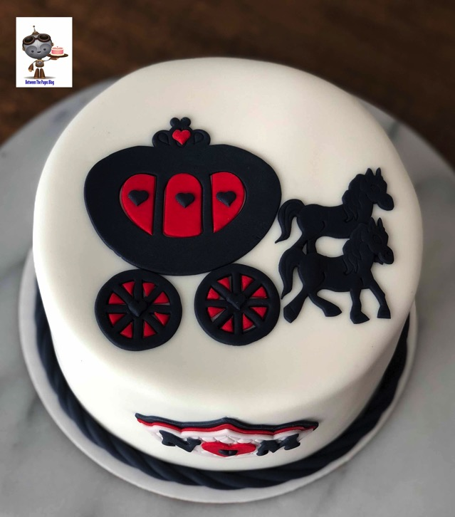 Cinderella Carriage cake 2
