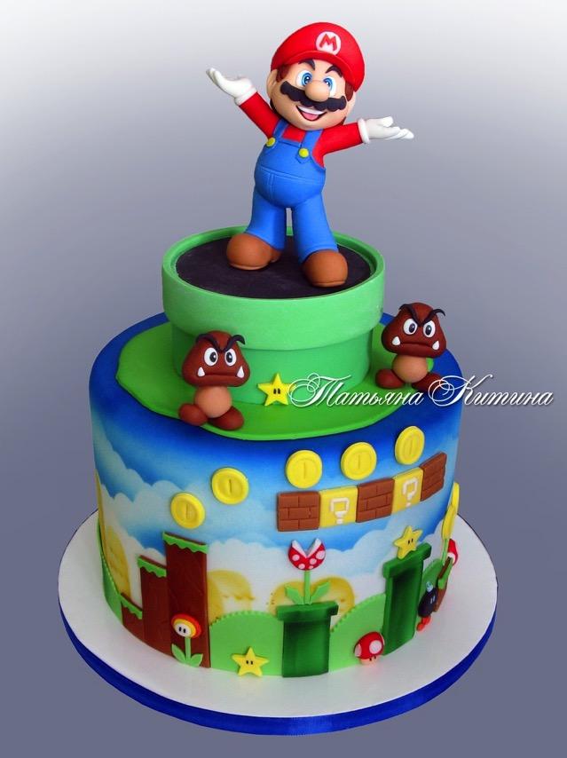 Mario Cake 1