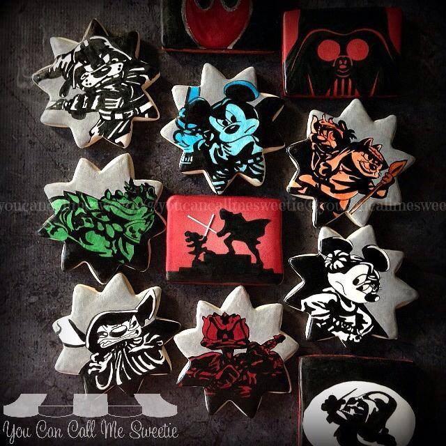 Disney Star Wars Cookies