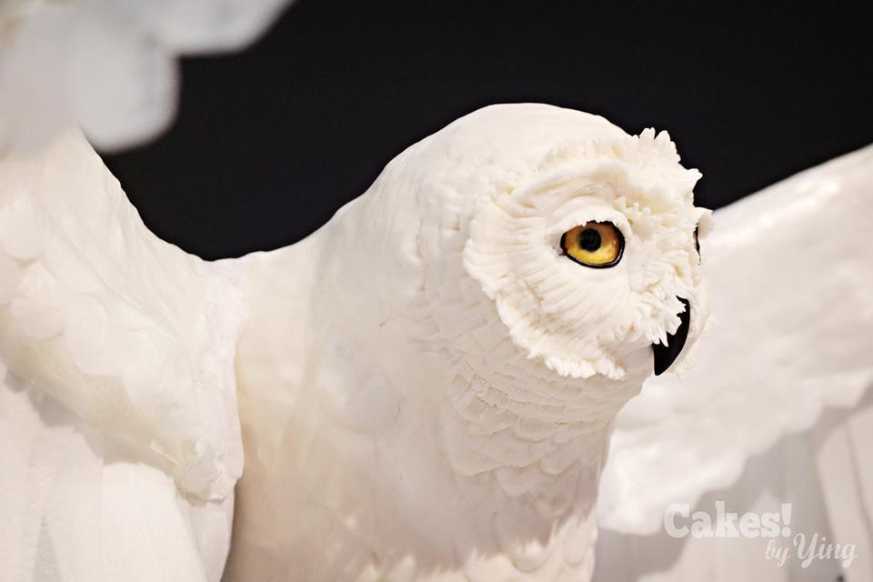 Close-up of Hedwig Cake
