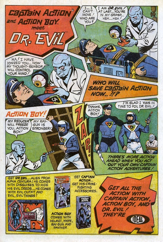Captain Action Ad