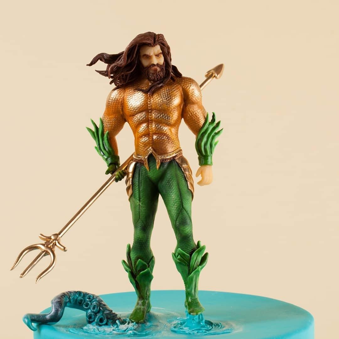 Aquaman Cake Topper