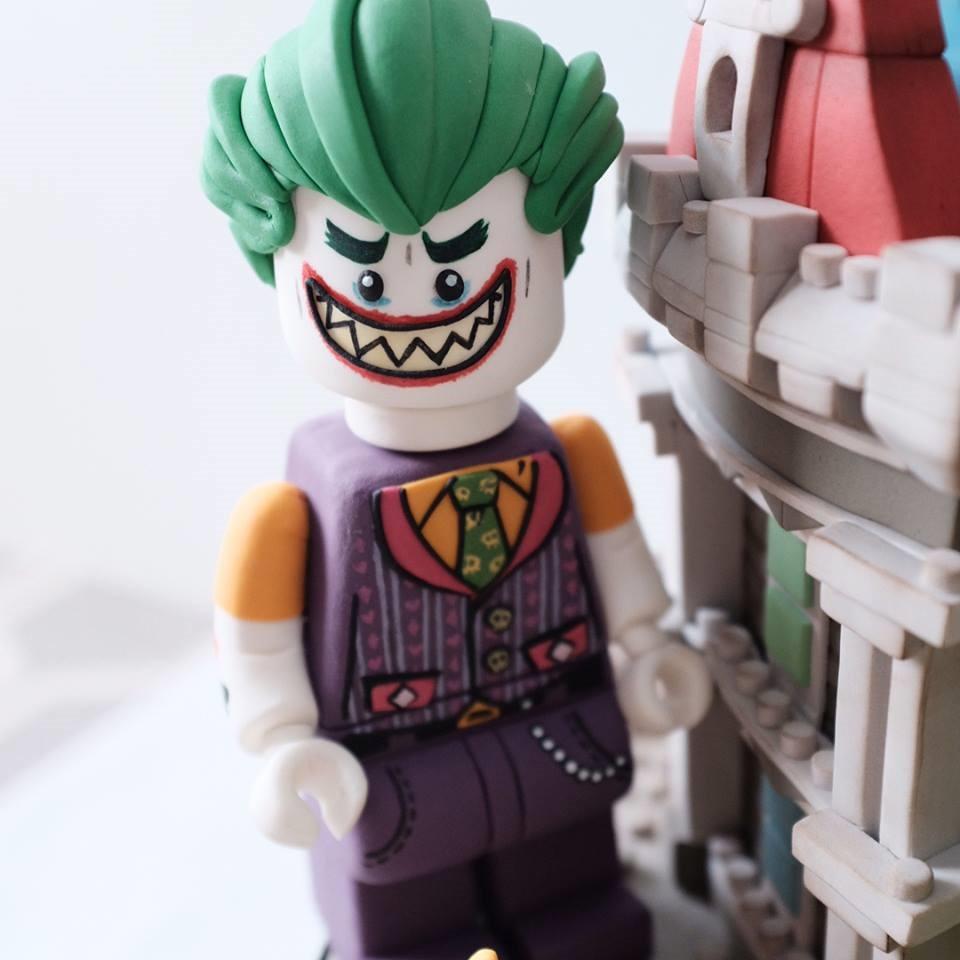 LEGO Joker Cake Figure