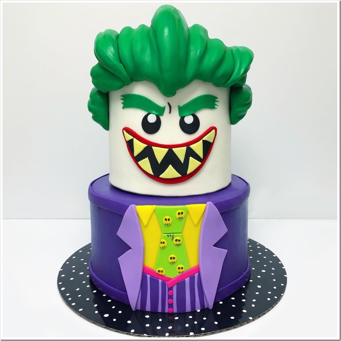 LEGO Joker Cake