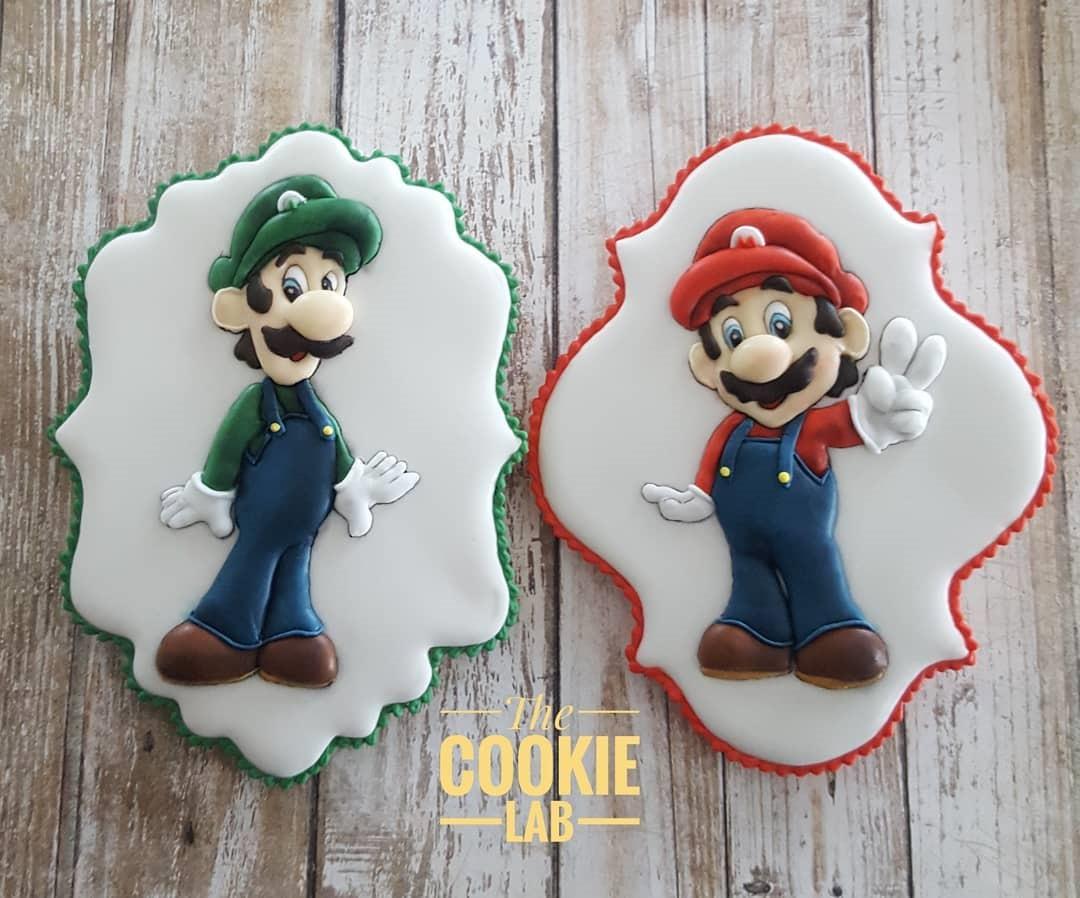 Mario and Luigi Cookies