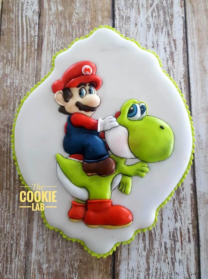 Mario and Yoshi Cookie
