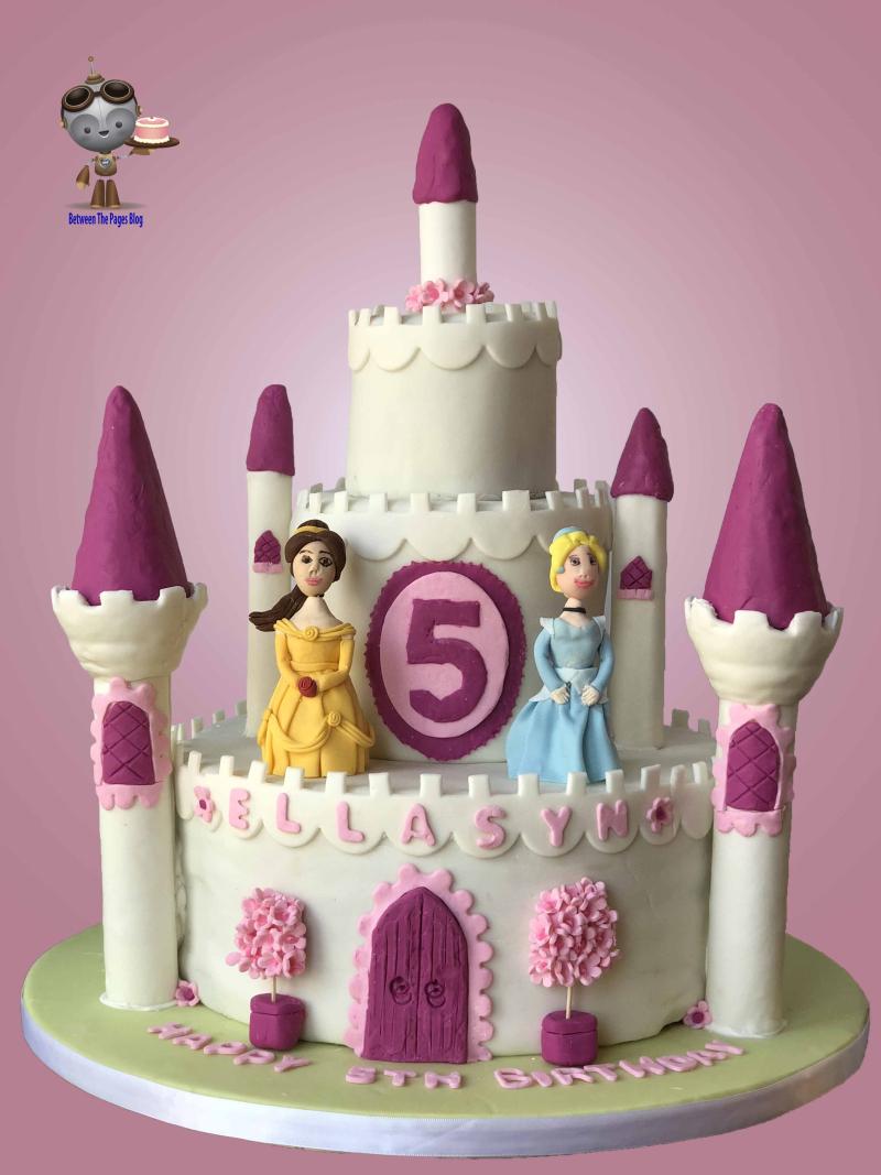Disney Princess Castle Cake 25