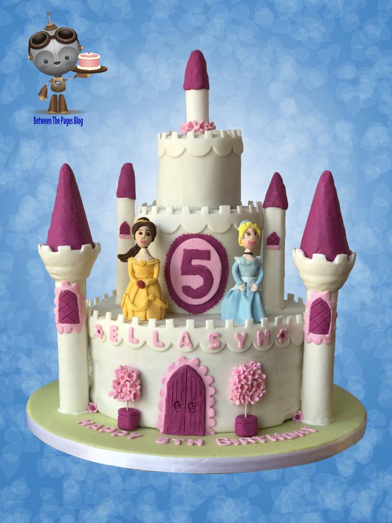 Disney Princess Castle Cake ogo