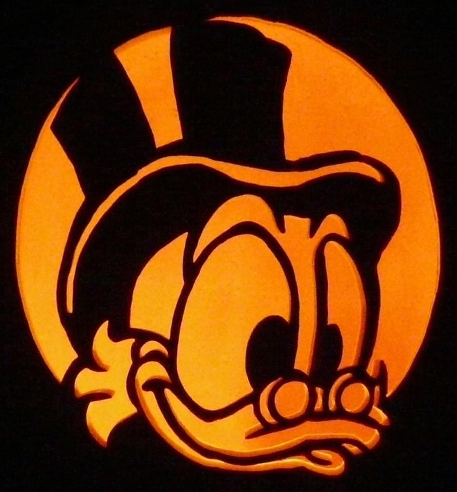 Scrooge McDuck Pumpkin Carving