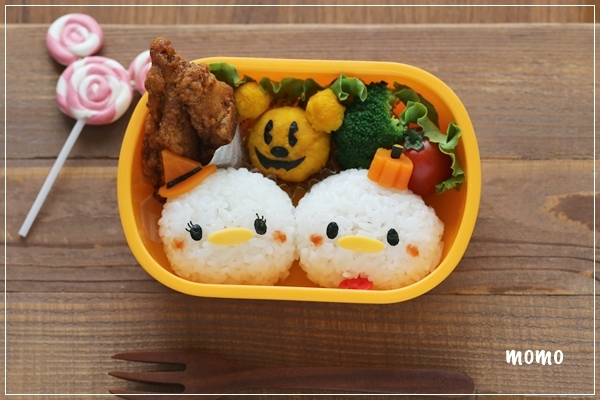 Donald and Daisy Duck Halloween Bento Box