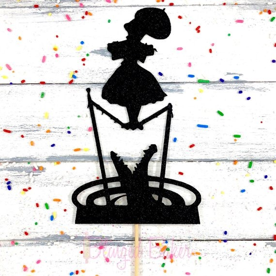 Haunted Mansion Stretching Room Cake Topper