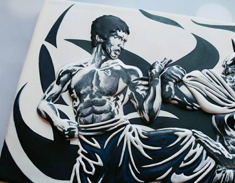 Bruce Lee Cookie