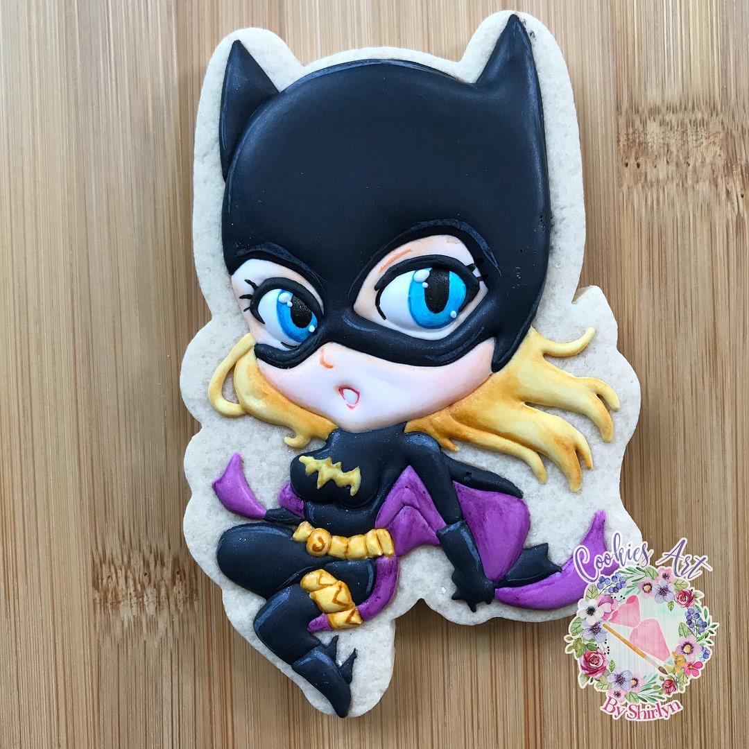 Chibi Stephanie Brown Batgirl Cookie