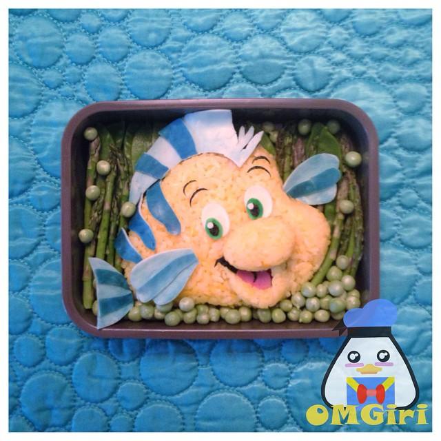 Flounder Bento Box