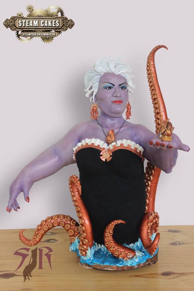 Ursula Steampunk Cake