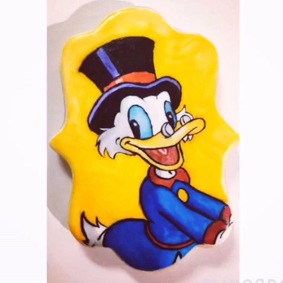 Uncle Scrooge Cookie