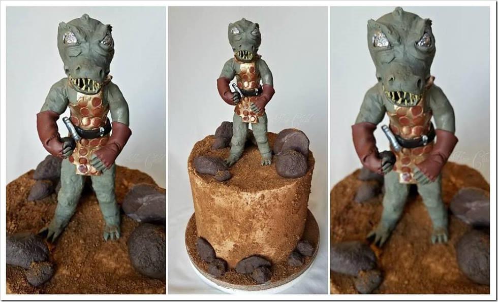 Star Trek Gorn Cake