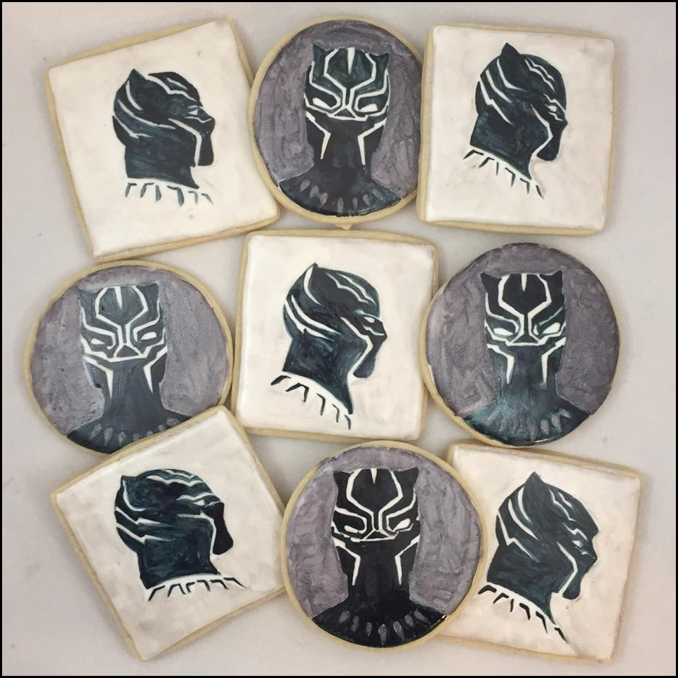 Black Panther Cookies