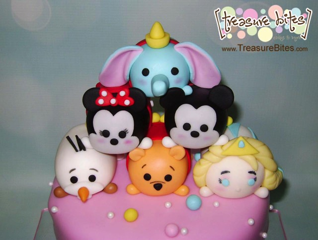 Disney Tsum Tsum Cake topper