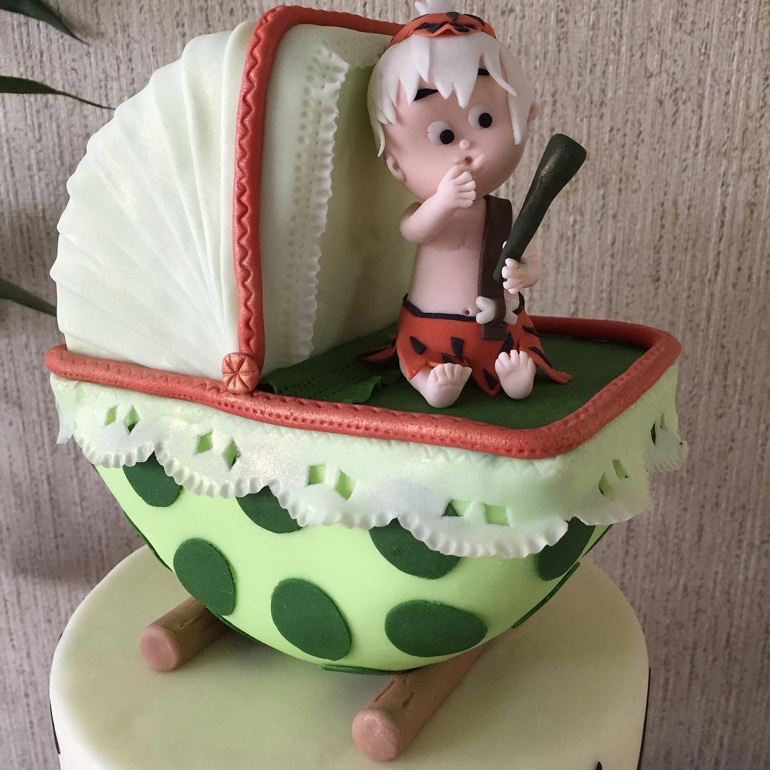 Bamm-Bamm Rubble Cake Topper