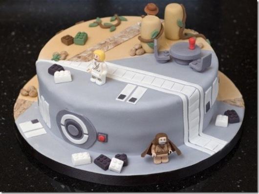 LEGO Star Wars & Indiana Jones Cake
