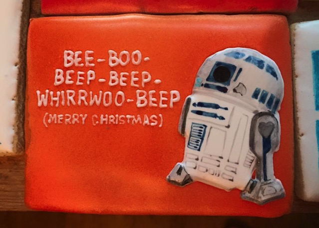 R2 D2 Christmas Cookie