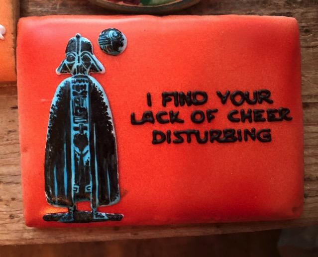 Darth Vader Christmas Cookie 2