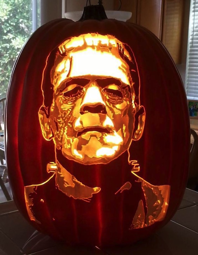 Frankenstein s Monster Pumpkin Carving