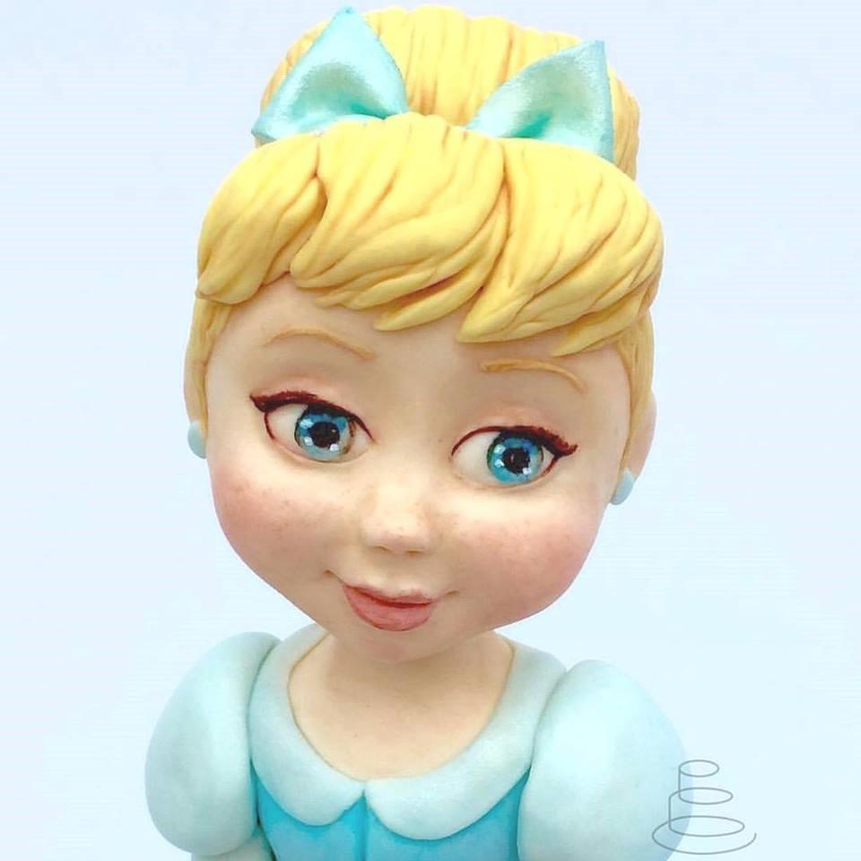 Close-up of Cinderella's Face