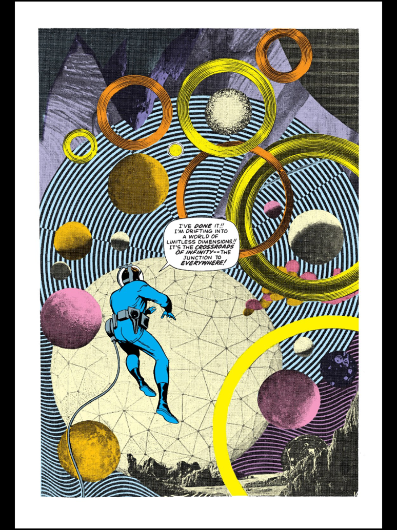Photo / Artwork Collage by Jack Kirby