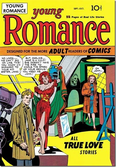 Young Romance #1 - The First Romance Comic