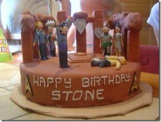 Star Trek Amok Time Brithday Cake