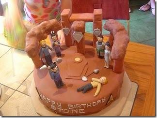 Star Trek Amok Time Birthday Cake
