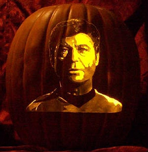 Doctor McCoy Pumpkin Carving