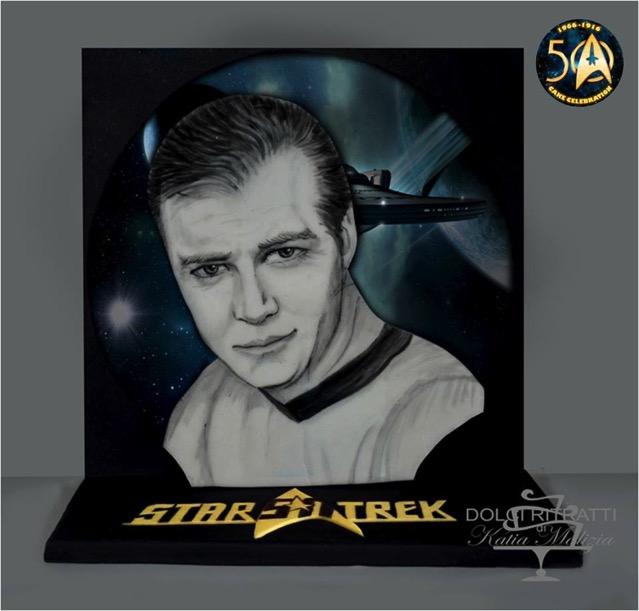 Captain Kirk Cake